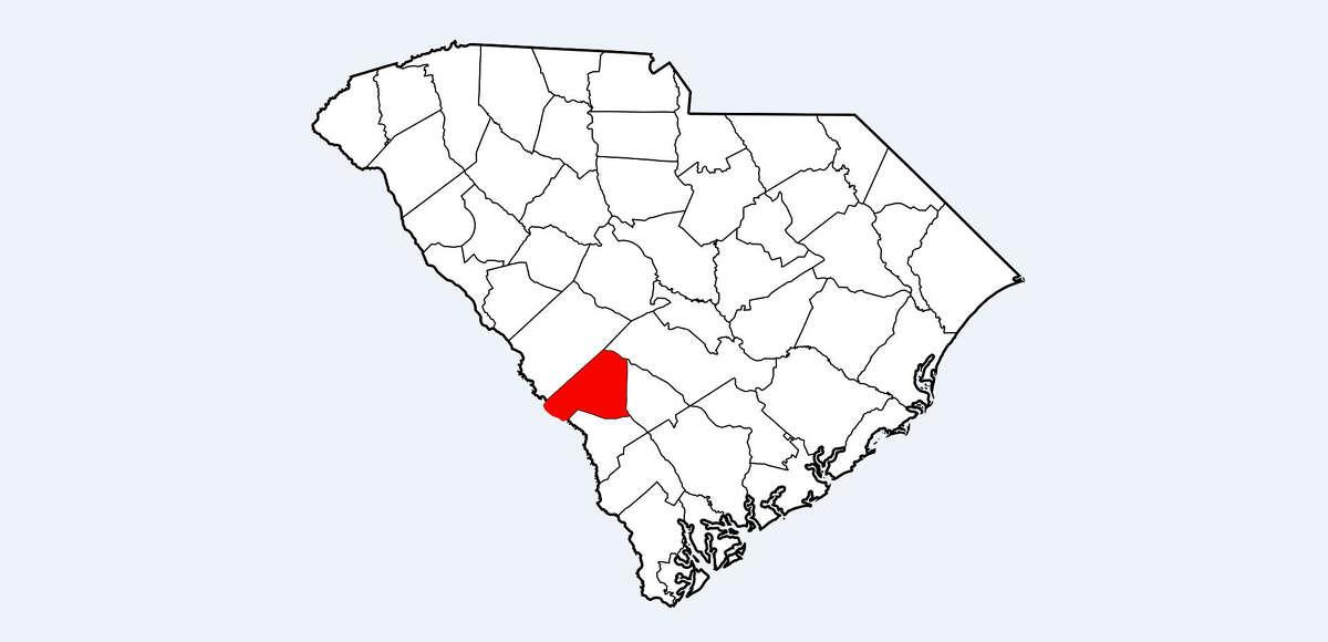 29. Barnwell County, South Carolina Population: 22,287 Violent Crimes per 100,000 People: 866.0 Number of Violent Crimes Reported: 193