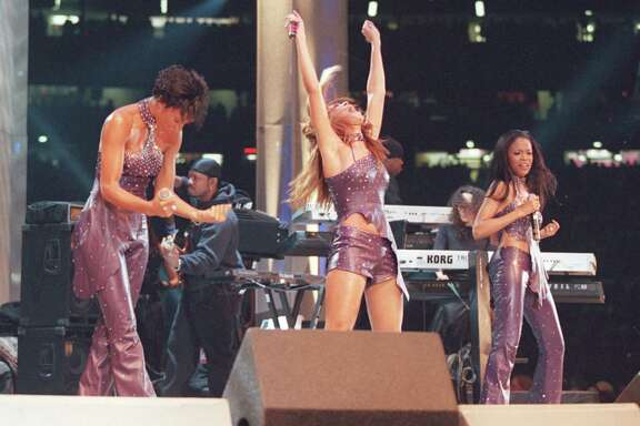 Destiny's Child performs at the Houston Livestock Show and Rodeo in 2001.