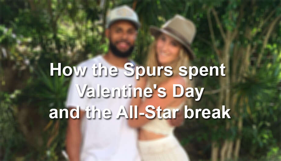 Several of the Spurs were active on social media during their short time off. Here's what they were up to.