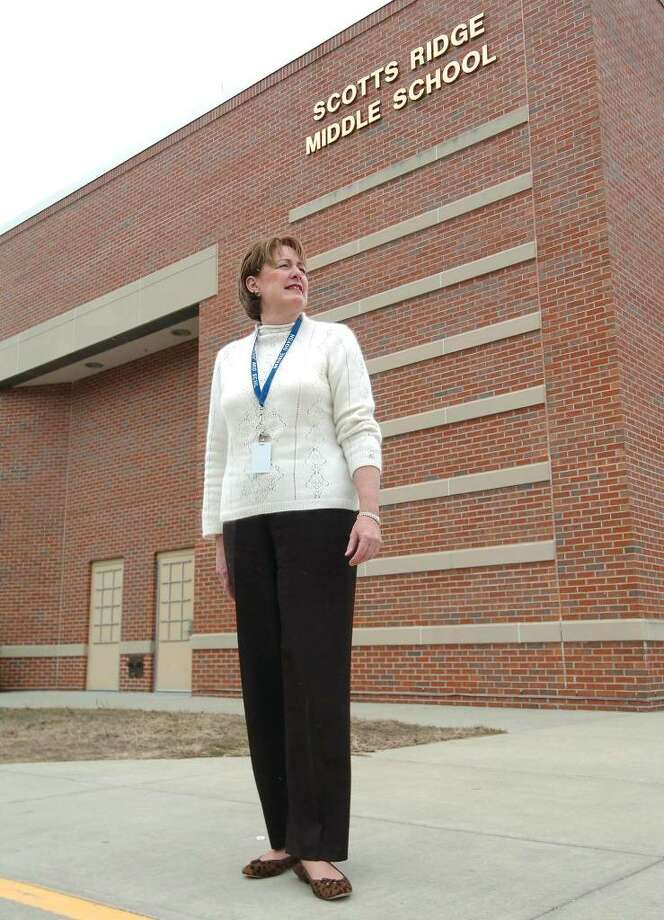 Scotts Ridge Middle School's principle Marie Doyon. Photo: File Photo / The News-Times File Photo