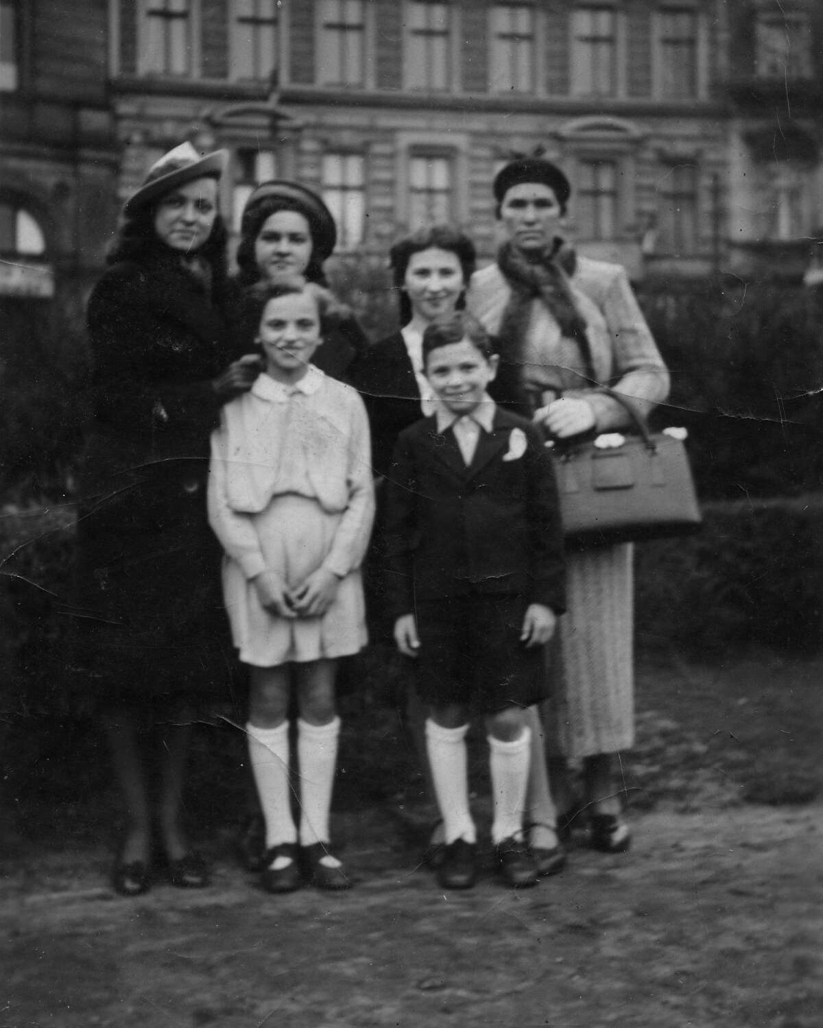 The Grajonca Family, circa 1938, Gelatin silver print, frame: 11 x 9 in. Collection of David and Alex Graham. Bill Graham and the Rock & Roll Revolution is organized and circulated by the Skirball Cultural Center, Los Angeles, California. On view March 17-July 5, 2016 at The Contemporary Jewish Museum, San Francisco.