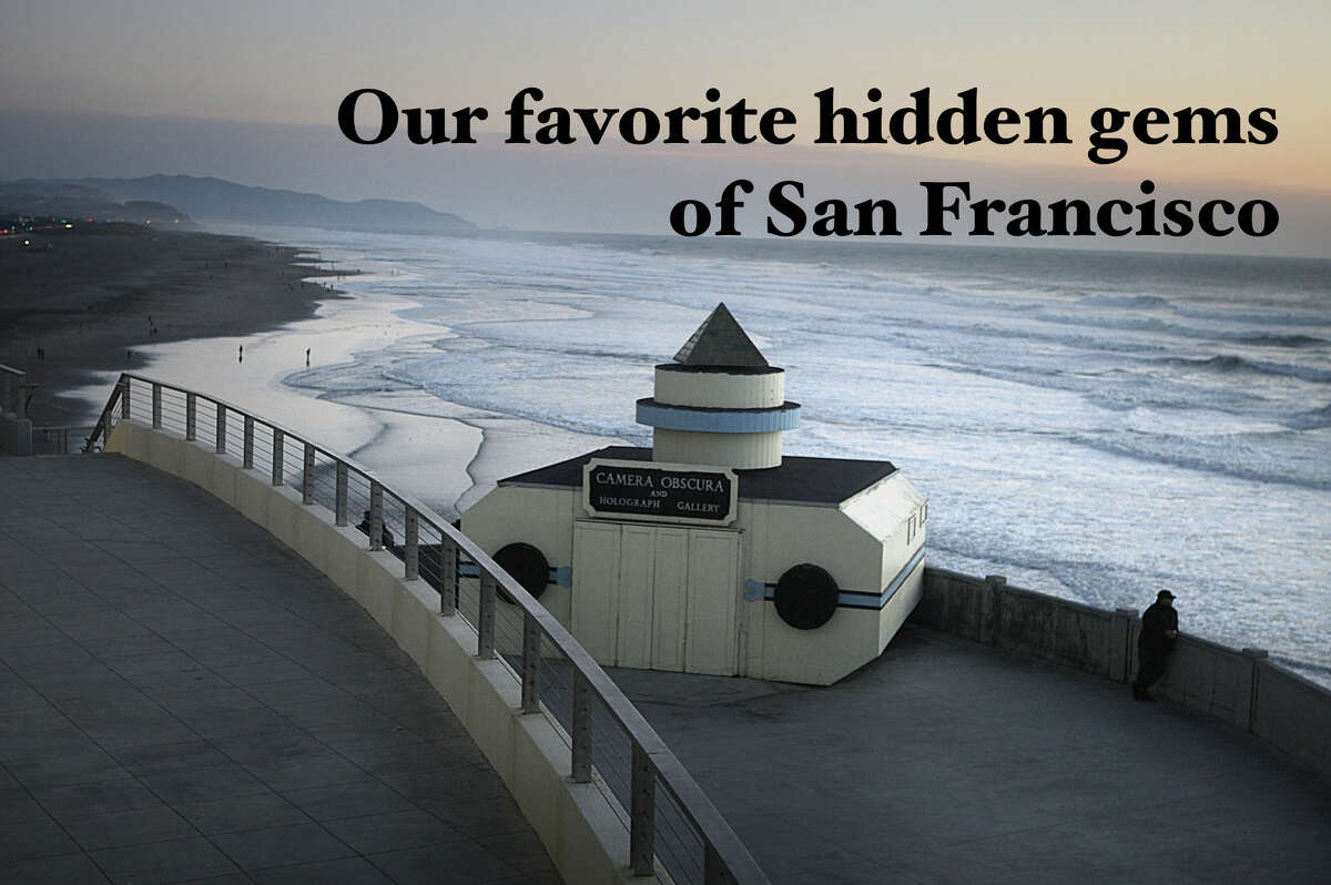 Click ahead to read about our favorite hidden spots and secret gems of San Francisco.