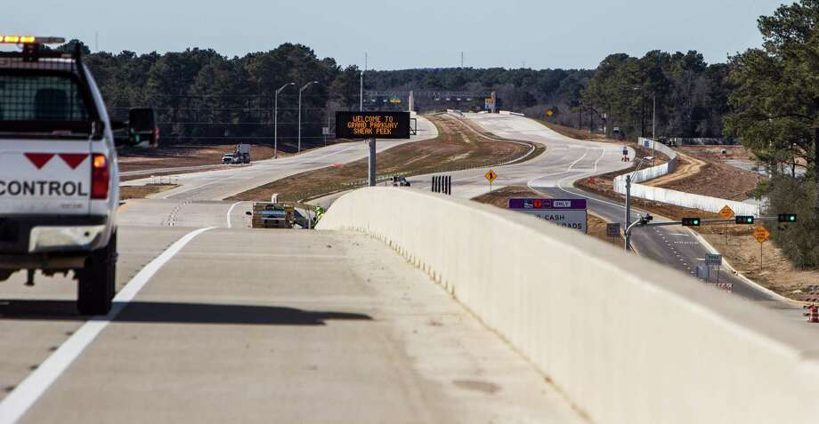 A section of the Grand Parkway just west of SH249 is shown on Friday, Jan. 29, 2016, in Houston. The new sections of State Highway 99, connecting the Cypress, Tomball and The Woodlands areas, are scheduled to open February, 8. Tolls will start being collected beginning February 15. ( Brett Coomer / Houston Chronicle ) Photo: Brett Coomer, Staff / © 2016 Houston Chronicle