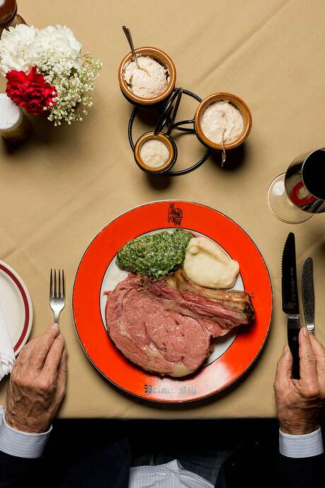 Prime rib at the House of Prime Rib in S.F. costs $43.85 now, up from $19.75 in 1995. Photo: Jason Henry, Special To The Chronicle