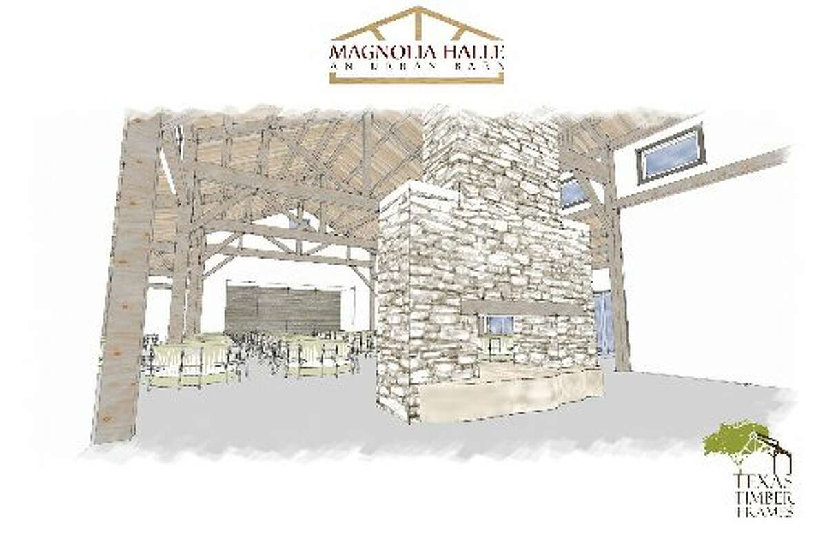 This is a preliminary rendering of the 4,500 square foot facility that will be a part of Culinaria's urban farm, Magnolia Halle.