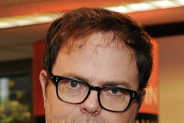 "Rainn Wilson attended classes at UW some time before setting off to gain fame playing the role of Dwight Schrute on ""The Office."""