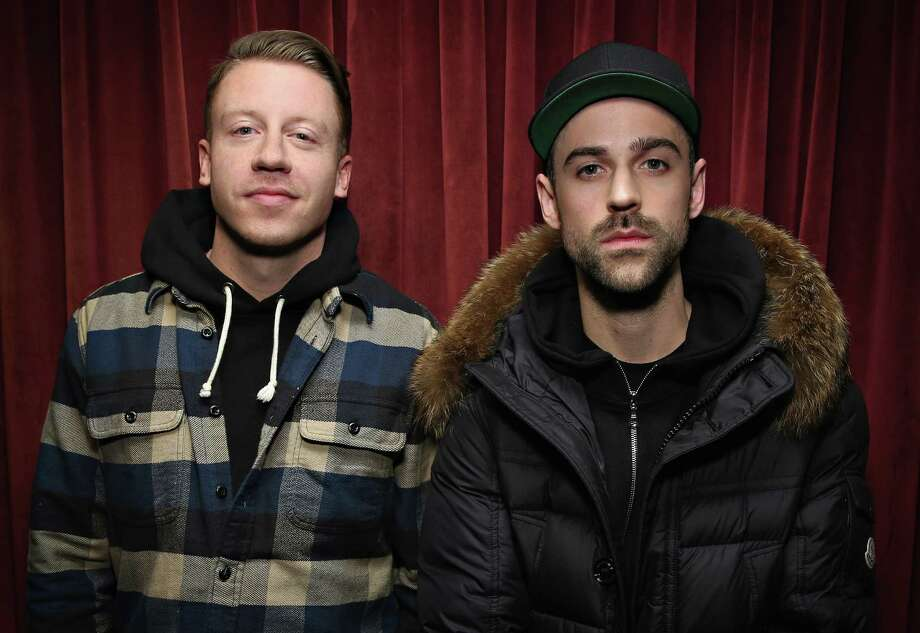 """The hip hop duo is facing a lawsuit that says their 2012 breakout hit """"Thrift Shop"""" isn't wholly original. Photo: Cindy Ord, Getty Images / 2016 Cindy Ord"""