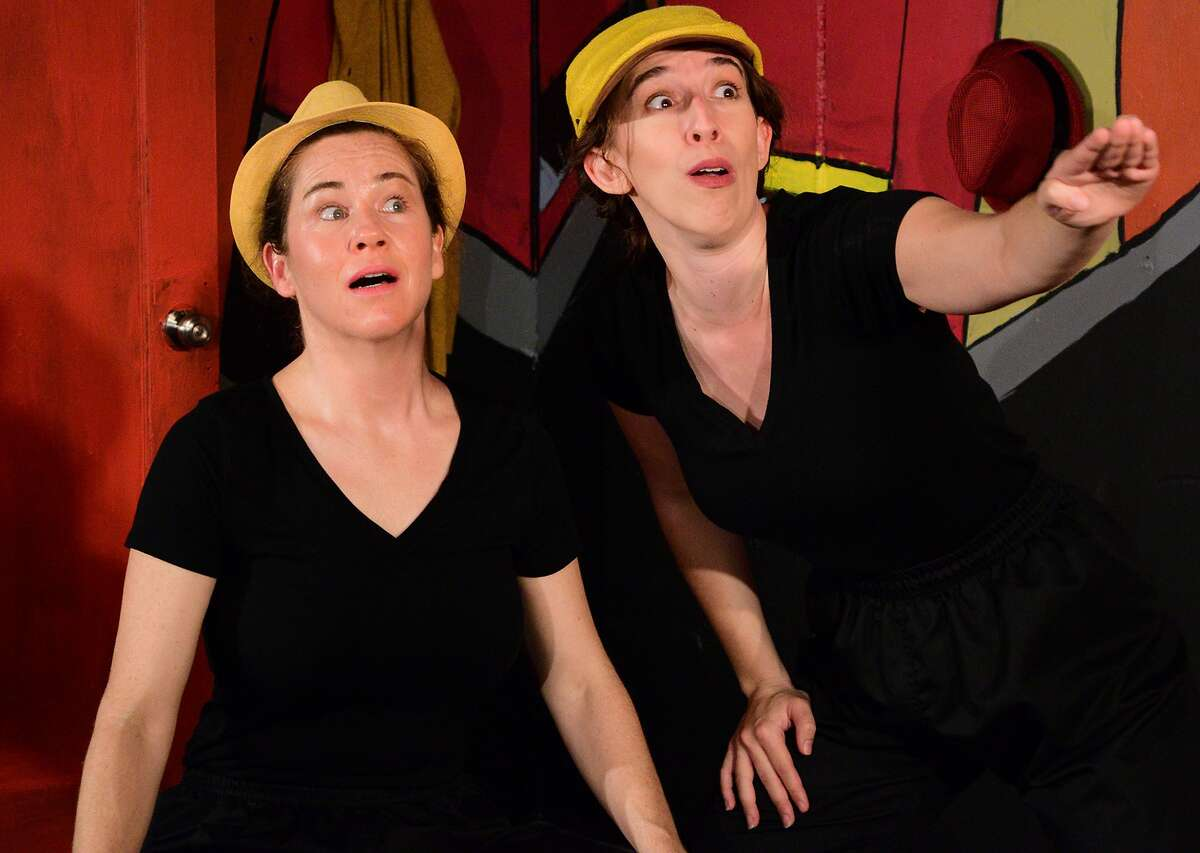 """Julie Douglas and Maria Giere Marquis in Impact Theatre's """"Comedy of Errors"""""""