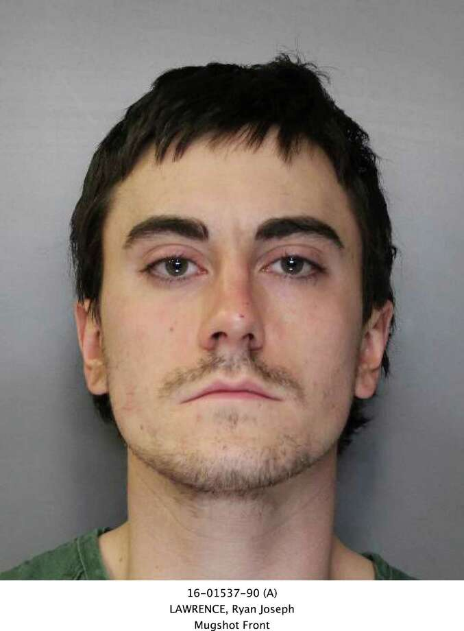 This booking photo provided by the Syracuse, N.Y., Police Department shows Ryan Lawrence, who is charged in the death of his 21-month-old daughter Maddox Lawrence. Police in Syracuse say divers have recovered the body of the toddler who disappeared over the weekend with her father, who is being charged with murder. Police Chief Frank Fowler says the body was found Tuesday in Syracuse's Inner Harbor. Details of her death weren't disclosed. (Syracuse Police Department via AP) ORG XMIT: NYMG103 / Syracuse Police Department