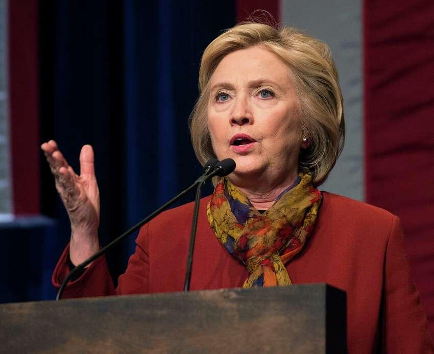 No. 5: Hillary Clinton -