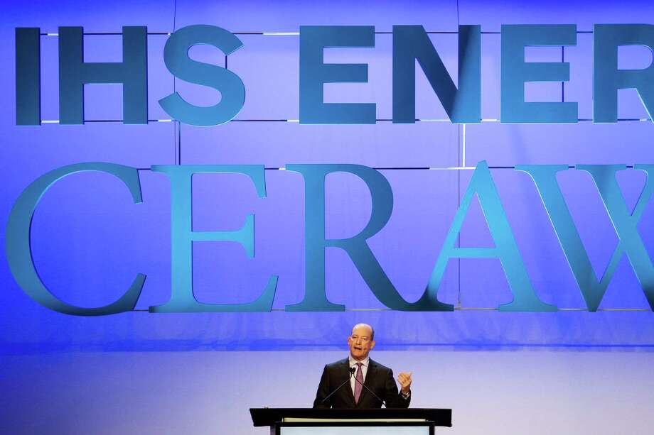 BP Deputy Group Chief Executive Lamar McKay speaks at an Upstream Plenary discussion during the second day of IHS CERAWeek at the Hilton Americas Tuesday, Feb. 23, 2016. ( Michael Ciaglo / Houston Chronicle ) Photo: Michael Ciaglo, Staff / © 2016  Houston Chronicle