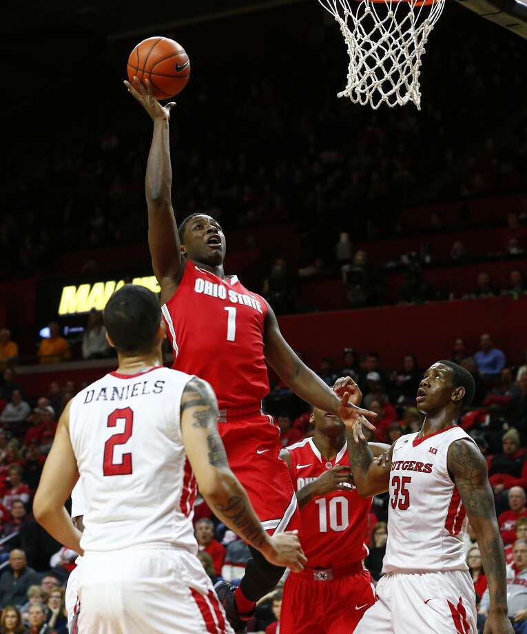 Sophomore forward Jae'Sean Tate was averaging 11.7 points and 6.4 rebounds per game for Ohio State. (Getty Images)