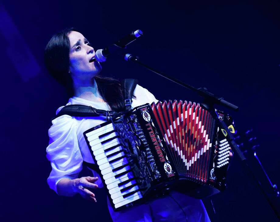 Julieta Venegas brings her versatile, reflective bilingual pop-rock to Houston for a show Friday at House of Blues. Photo: Getty Images, Stringer / 2015 WireImage