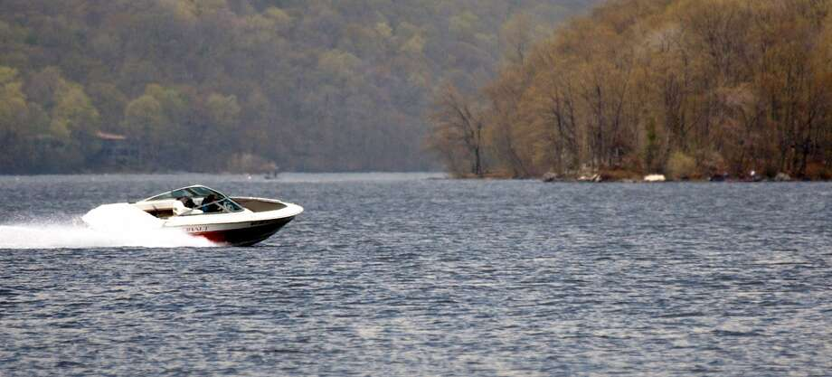 The state Environment Committee is considering a bill that would require boats to slow down significantly on Candlewood Lake after dark. Photo: Hearst Connecticut Media File Photo / The News-Times