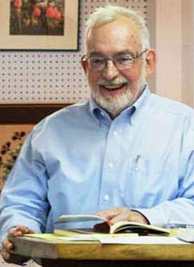 James Scrimgeour, professor emeritus at Western Connecticut State University in Danbury, has been recommended by the New Milford Library Board of Trustees to serve as New Milford's first poet laureate. Photo: Contributed Photo / Contributed Photo / The News-Times Contributed