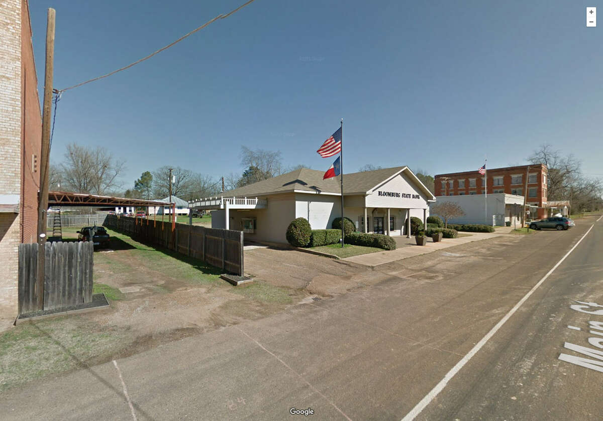 Bloomburg, Texas (Cass County) The suffix -burg, which is also its own word, means an ancient or medieval fortress or walled town.