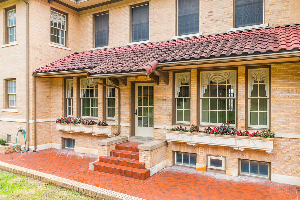 Located on the highly sought after Belvin Street Historic District in San Marcos, this estate includes a 6,896-square-foot home, a three-car garage and renaissance revival architecture. It was built by renowned architect Altee B. Ayers, who also built the McNay Art Museum.