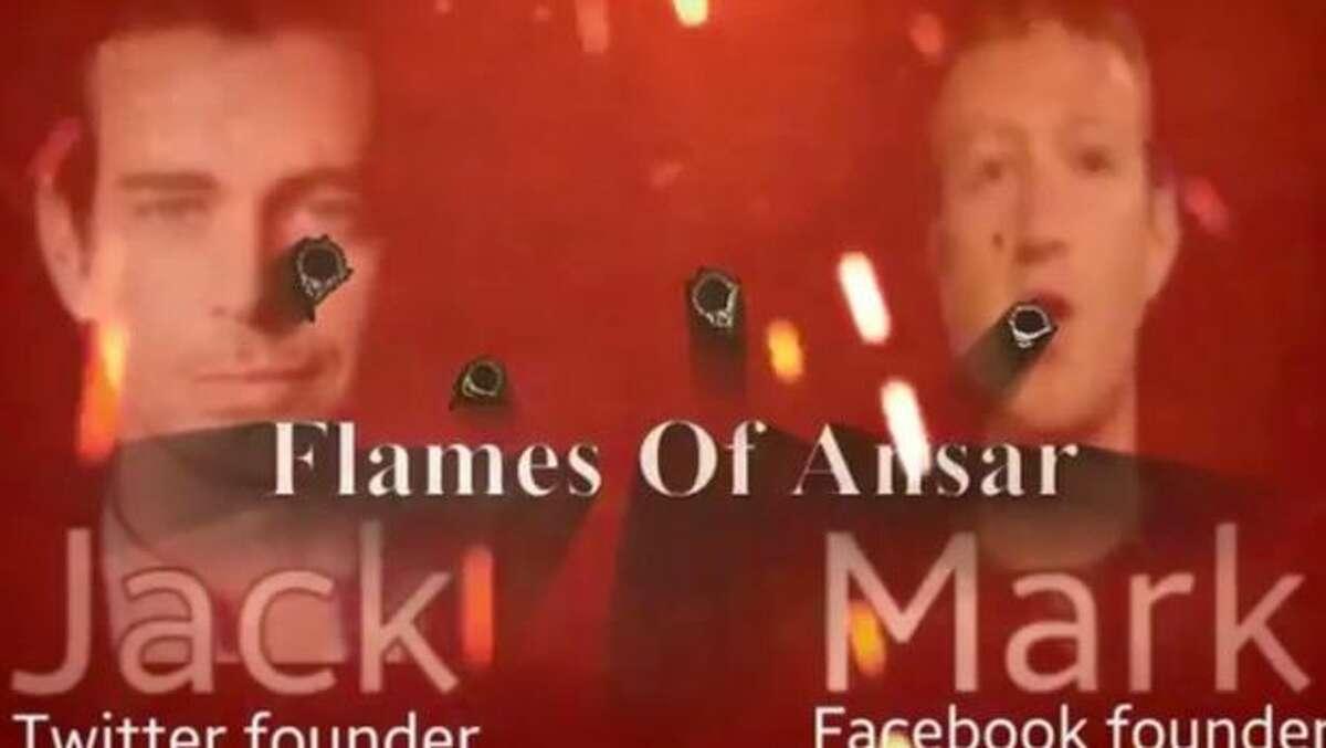 A screenshot from an alleged ISIS propaganda video.