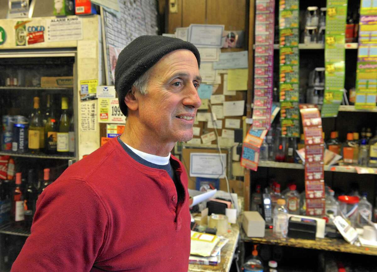 Maurice Samaha, owner of the Danbury Liquor Store, on White Street, said Tuesday he decided not to join the protest in Hartford, saying no stores really want these changes, but he thinks they'll happen anyway.