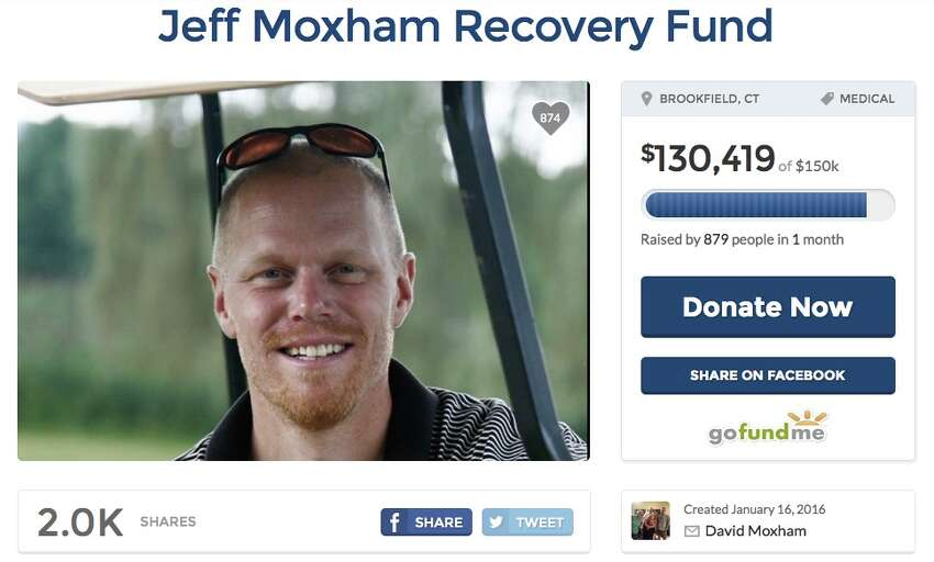 Funds for the victim of a workplace accident Total sought:$150,000Overview: A Brookfield business owner lost the use of his lower body when he was crushed under a garage door; family seeks financial support.GoFundMe Page