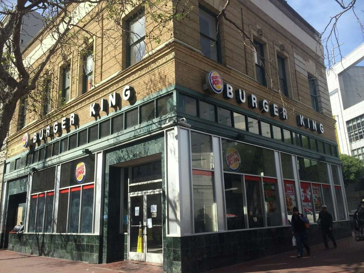 The shuttered Burger King at 1200 Market St.