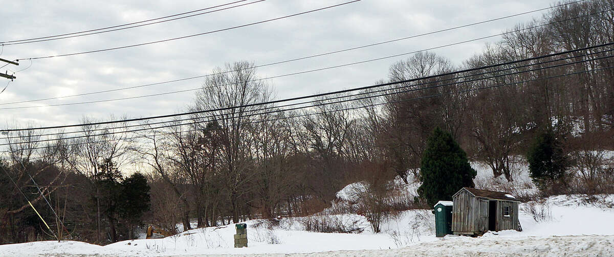 The former Plant Factory on Black Rock Turnpike has been torn down, but a court appeal is holding up the construction of a medical office building on the site.