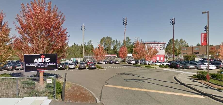 19. Archbishop Murphy High School, EverettAcademics: ATeachers: BClubs and activities: A-Diversity: BCollege prep: A-Sports: B+ Photo: Google Maps