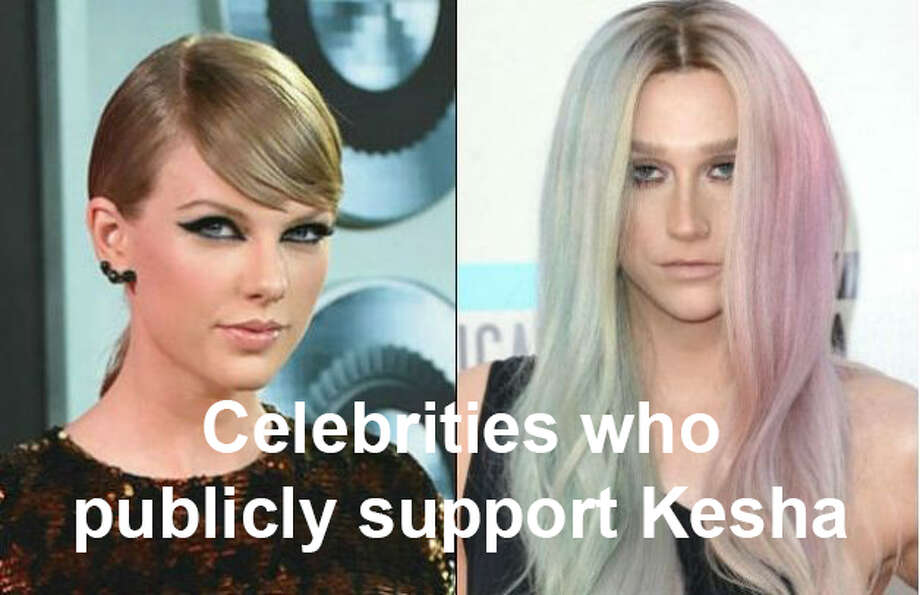 A number of celebrities have come forward to support Kesha, who can't get out of a contract requiring her to work with a producer she says sexually assaulted her. Taylor Swift donated $250,000 to her legal costs.