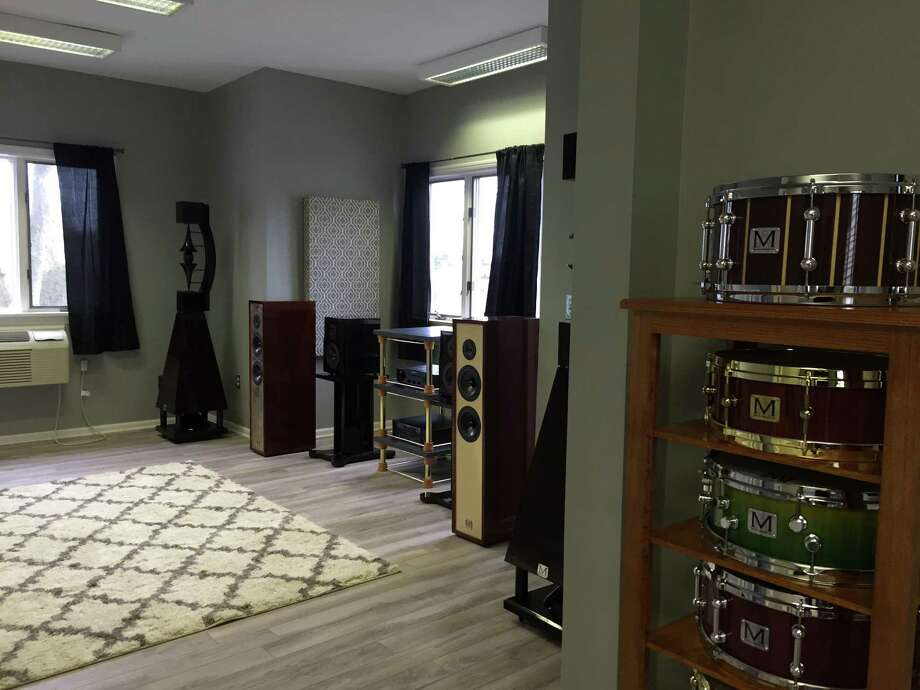 Meliti Acoustics, a Connecticut-based loudspeaker and percussion manufacturer, is opening a showroom at 1081 E. Putnam Ave. in Greenwich. Photo: Contributed Photo / Greenwich Time Contributed