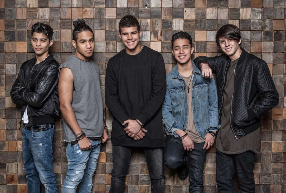 CNCO during a private appearance in Houston earlier this year. Photo: Michael Starghill/Para La Voz De Houston