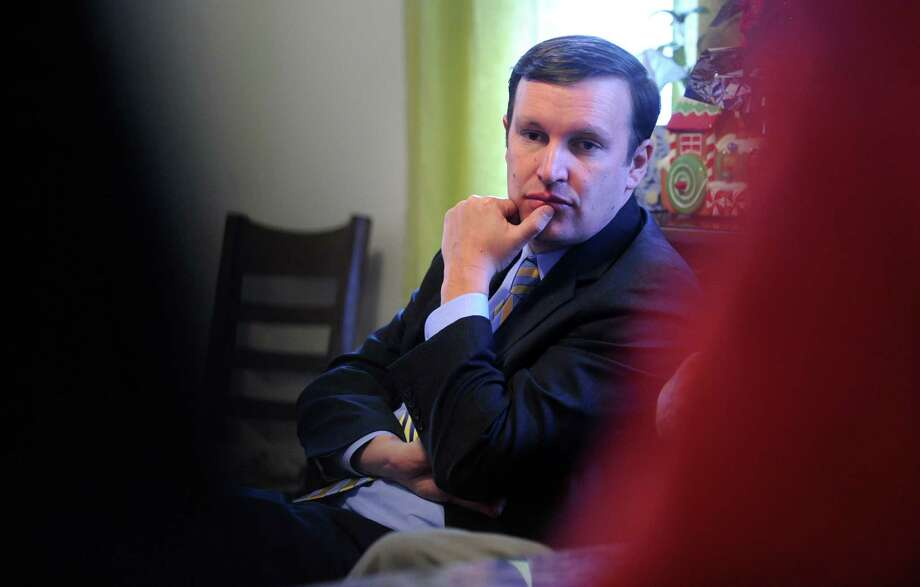 U.S. Sen. Chris Murphy (D-Conn.) has proposed a $5,000 tax credit to help homeowners remove plumbing that contains lead, as well as radon and asbestos abatement. Photo: Autumn Driscoll / Autumn Driscoll / Connecticut Post