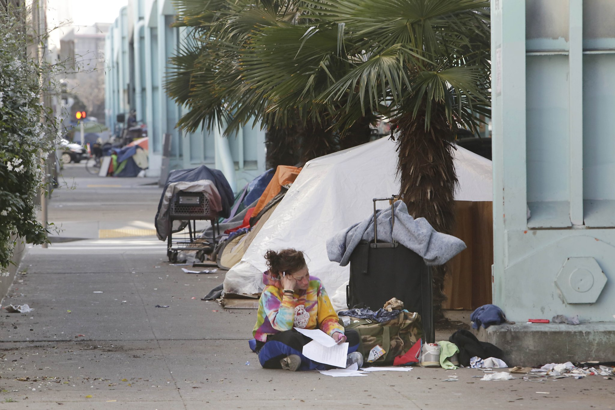 Flood of homeless in tent camp just small part of problem  San