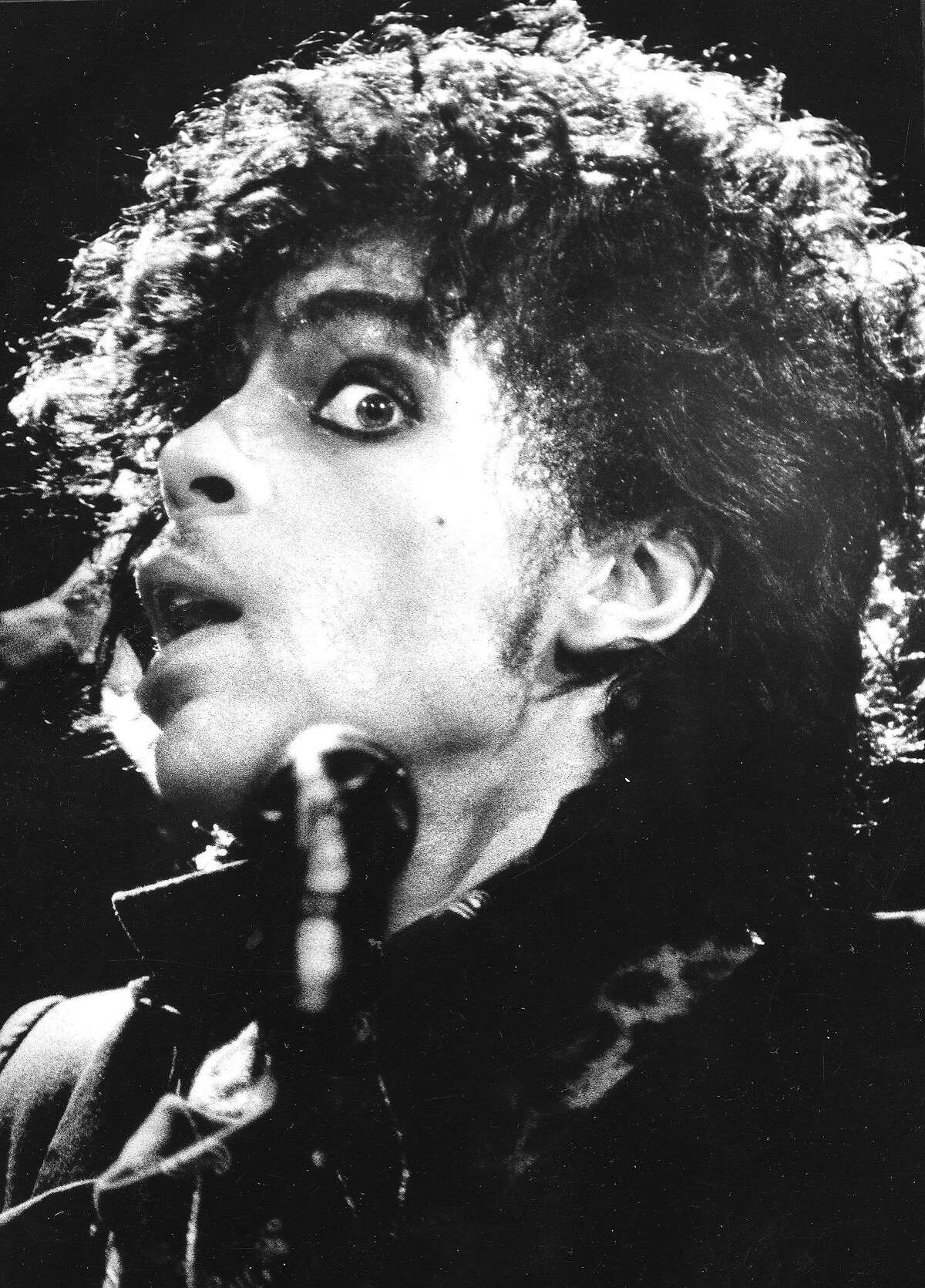 Prince performing in 1983.