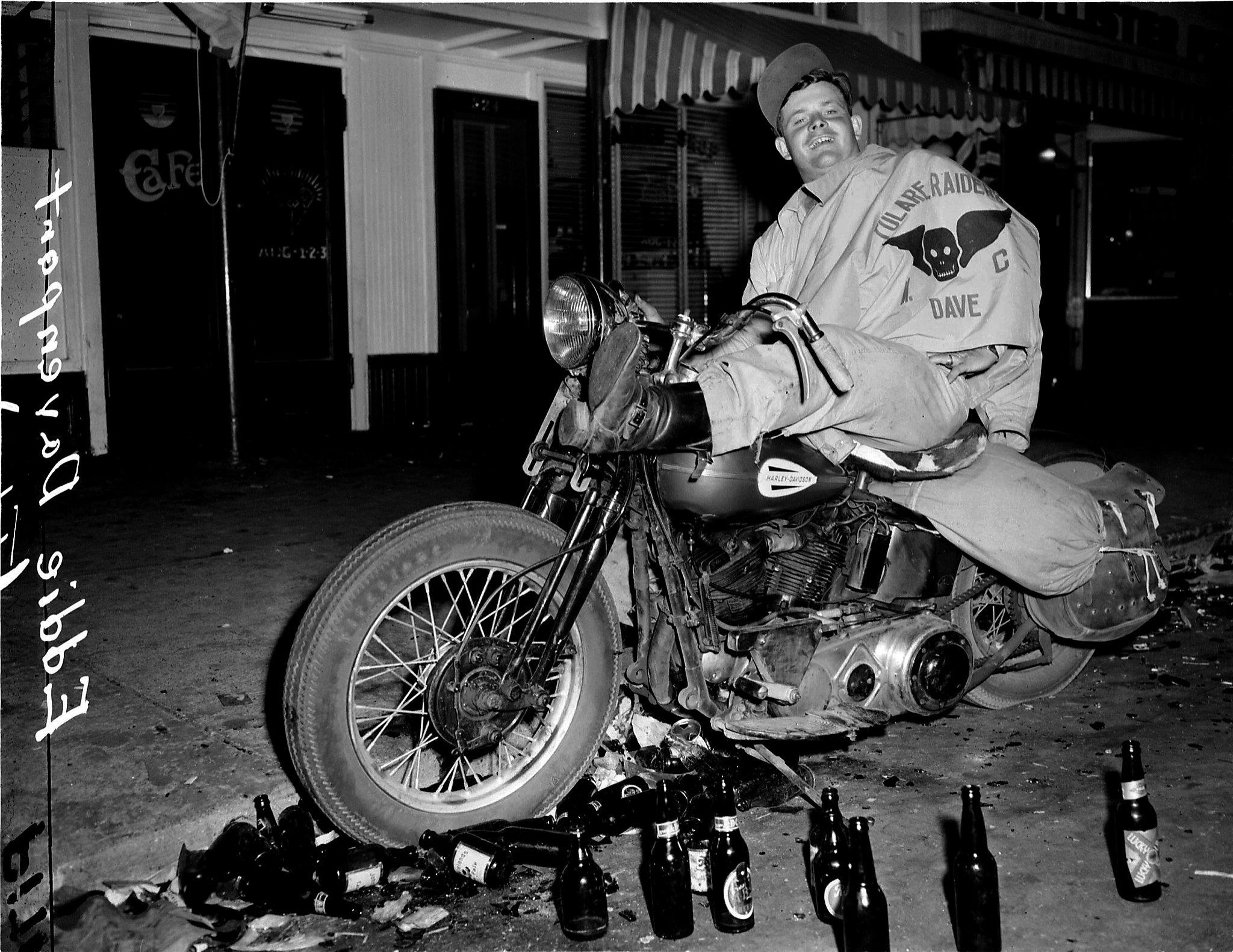 These Biker Photos Defined The Boozy Bloody Hollister
