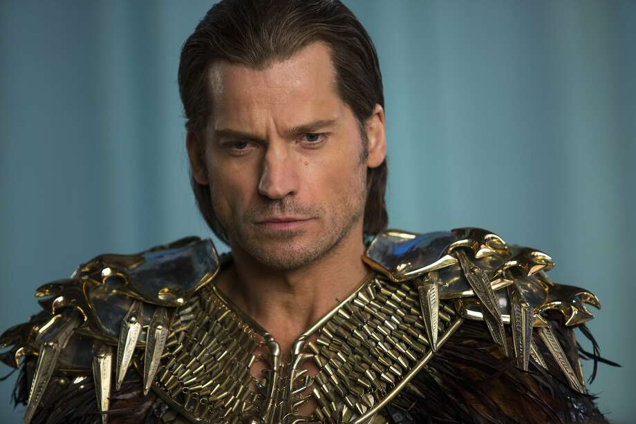 "Nikolaj Coster-Waldau plays Horus in ""Gods of Egypt."" Photo: Lisa Tomasetti, Associated Press"