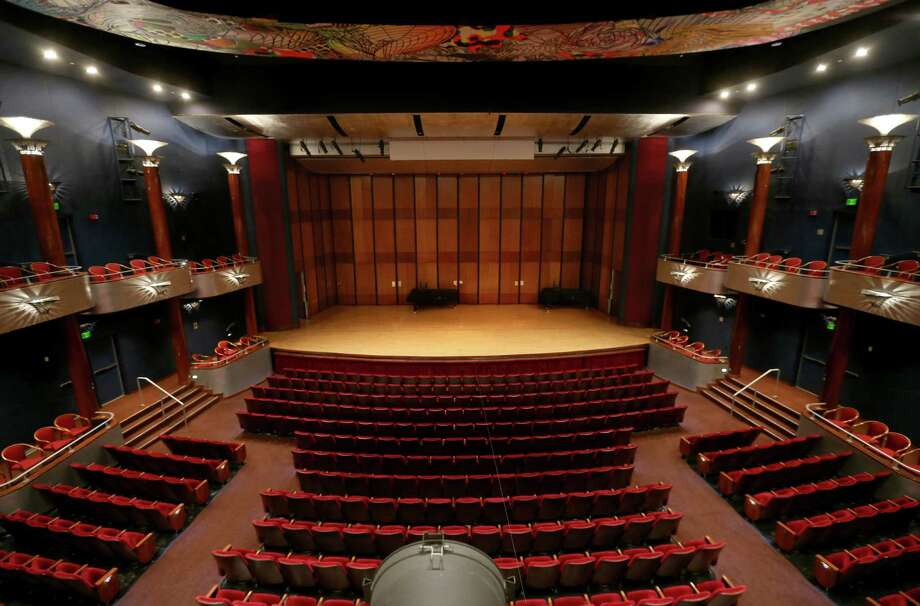 The Moores Opera House at the Moores School of Music will be the home of the Republican Presidential Debate on the campus of the University of Houston. The seating capacity is 800 people. ( Gary Coronado / Houston Chronicle ) Photo: Gary Coronado, Staff / © 2015 Houston Chronicle