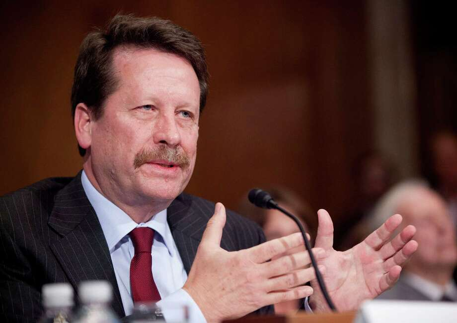 """Dr. Robert Califf says, """"We underestimated the tenacity"""" of addiction and misuse of opioids.  Photo: Pablo Martinez Monsivais, STF / AP"""