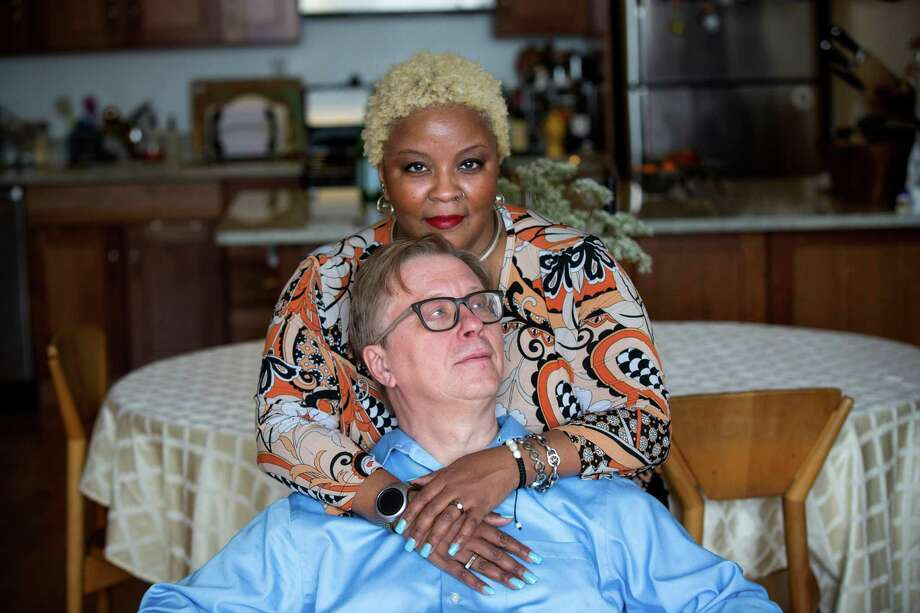 Georg Friedrich Haas says his unconventional relationship with Mollena Williams-Haas has dramatically boosted his productivity and reshaped his artistic outlook. Critics have hailed his recent work. Photo: BRIAN HARKIN, STR / NYTNS