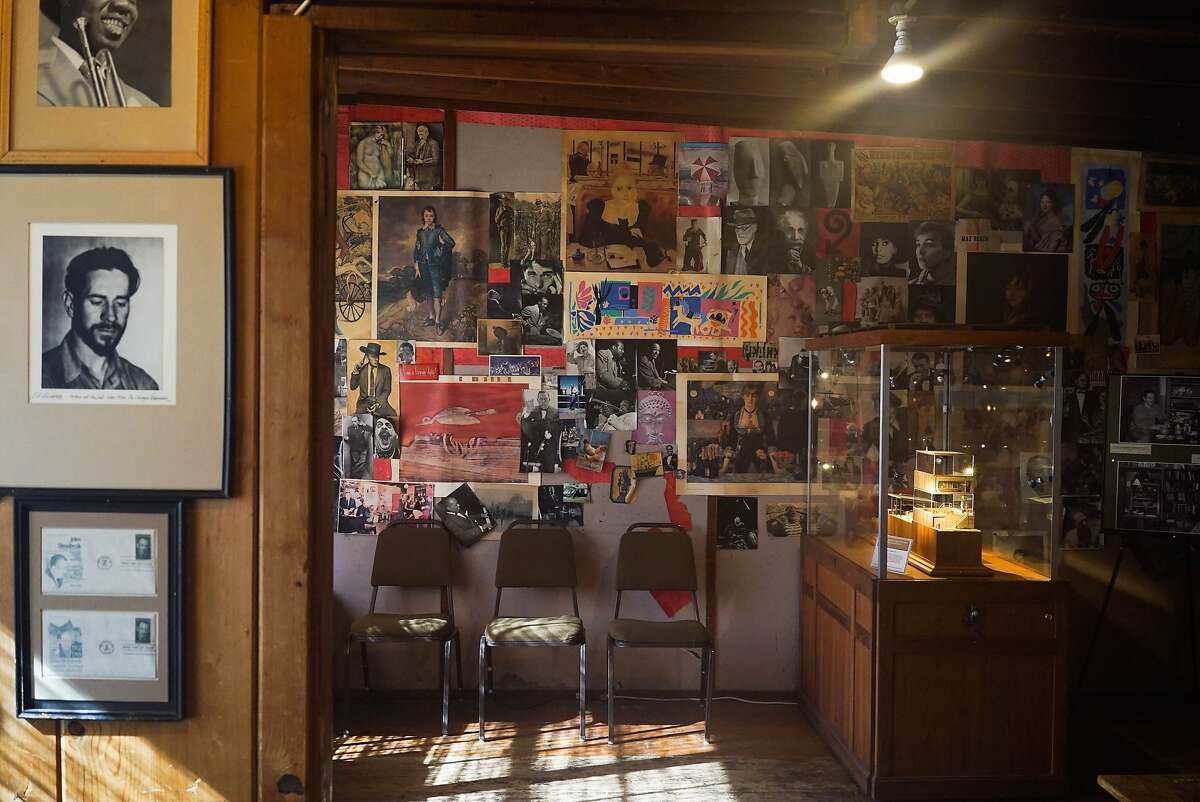 Doc Ricketts' lab is filled with memorabilia in Monterey , Calif. on Monday, February 22, 2016. Ricketts' lab is located on Cannery Row.
