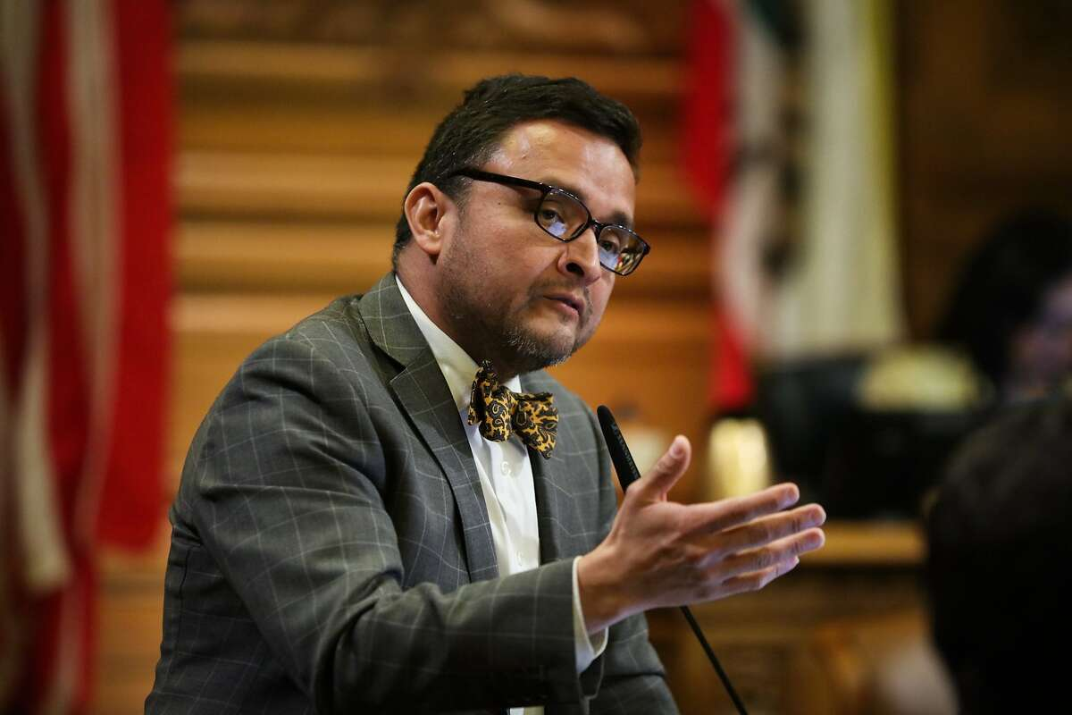 """Former Supervisor David Campos, seen in this 2016 file photo, said: """"We're obviously not anti-immigrant or anti-Chinese. ... But this is one of the worst displays of manipulating the process I've seen in years."""""""