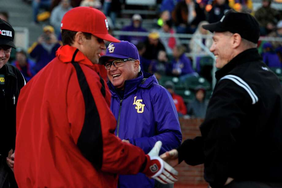 2. Davis has been to the College World Series four times as an assistant.Davis and LSU won the national championship in 2009. Photo: Ryan Pelham / ©2016 The Beaumont Enterprise/Ryan Pelham