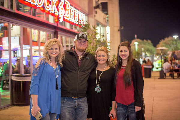 Fans of country rock star Brantley Gilbert turned out for a night of heartfelt power ballads following the PRCA Rodeo Semi-Finals at the San Antonio Stock show & Rodeo, Feb. 24, 2016.
