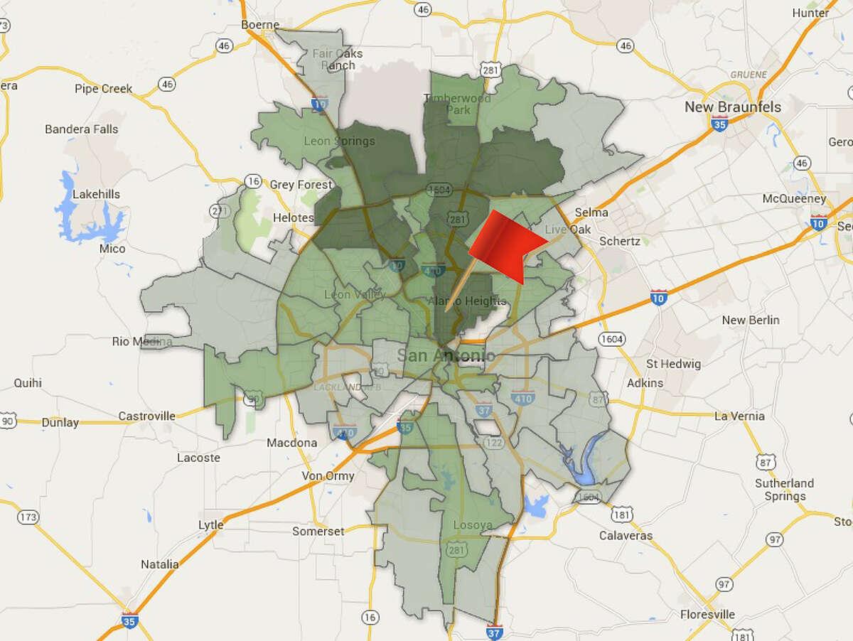 ZIP code: 78212 Amount of total contributions: $653,229