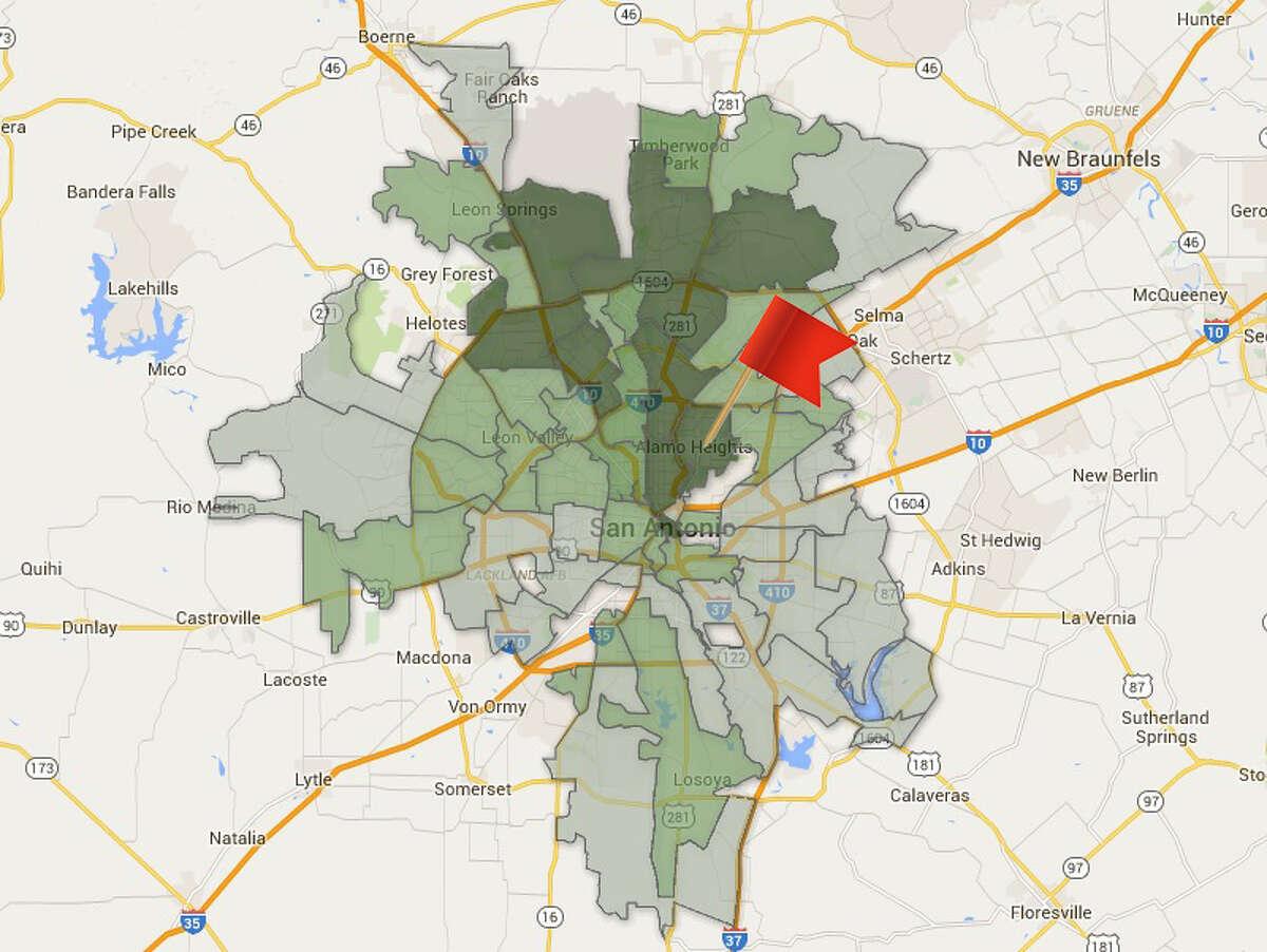ZIP code: 78209 Amount of total contributions: $716,873
