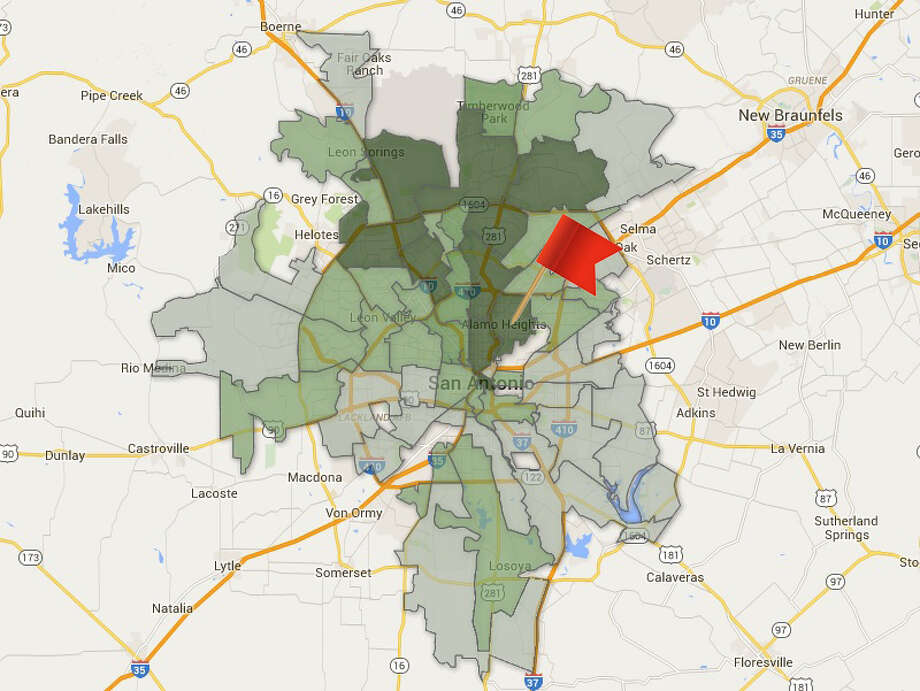 ZIP code:78209