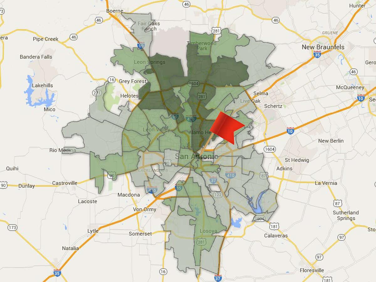 ZIP code: 78205 Amount of total contributions: $269,165