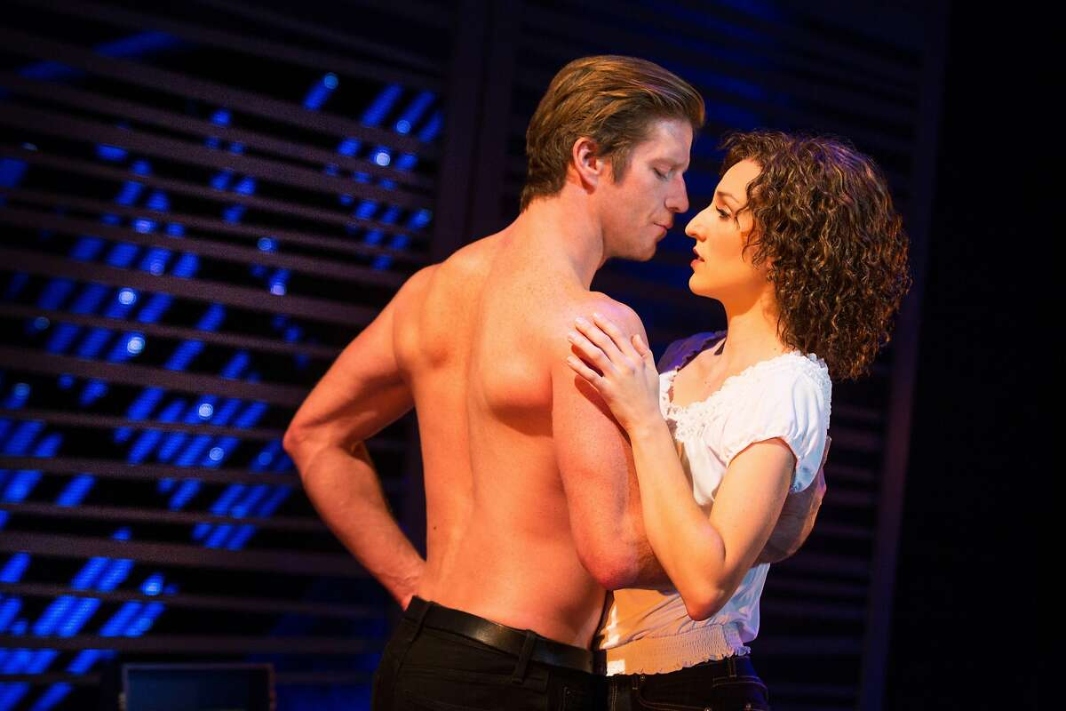 Photo Credit to MATTHEW MURPHY Christopher Tierney (Johnny) and Rachel Boone (Baby) in the North American tour of DIRTY DANCING - THE CLASSIC STORY ON STAGE.