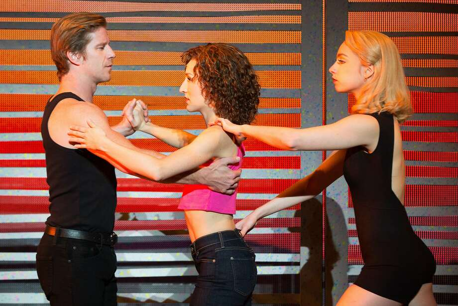 """Christopher Tierney as Johnny, Rachel Boone as Baby and Jenny Winton as Penny in the stage adaptation of """"Dirty Dancing."""" Photo: Matthew Murphy, MATTHEW MURPHY"""