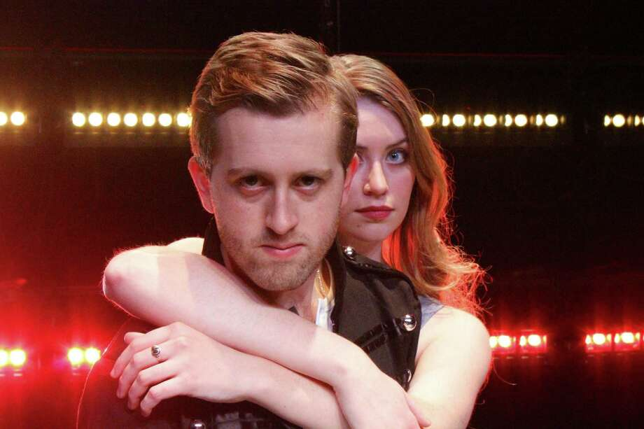 """Alec Lewis and Caity Gallagher in """"Bloody Bloody Andrew Jackson"""""""