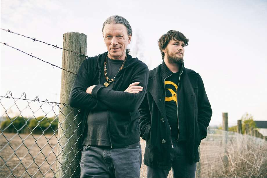 Guitarist Steve Kimock (left) is performing with his new band, whose members include his son, John Morgan Kimock (right). Photo: Michelle Pattee, Michele Pattee